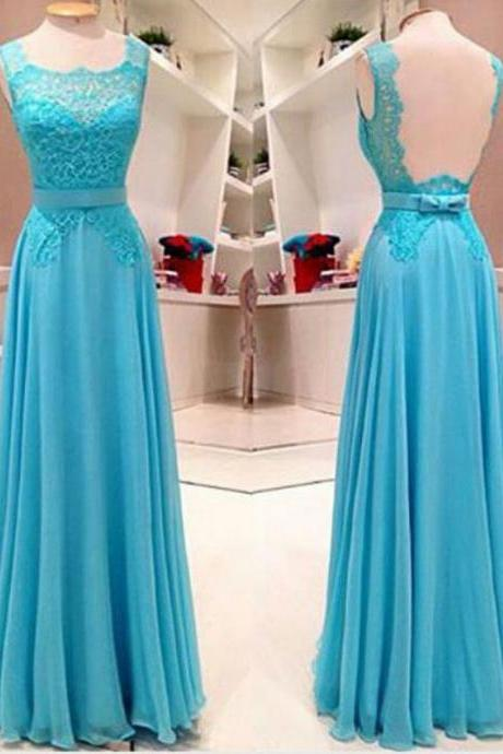 Turquoise Blue Prom Dress, Backless Prom Dress, Lace Prom Dress, Sexy Formal Party Dresses, A Line Prom Dress, Cheap Prom Dress, Prom Dresses 2017